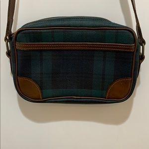 Ralph Lauren vintage tartan plaid bag